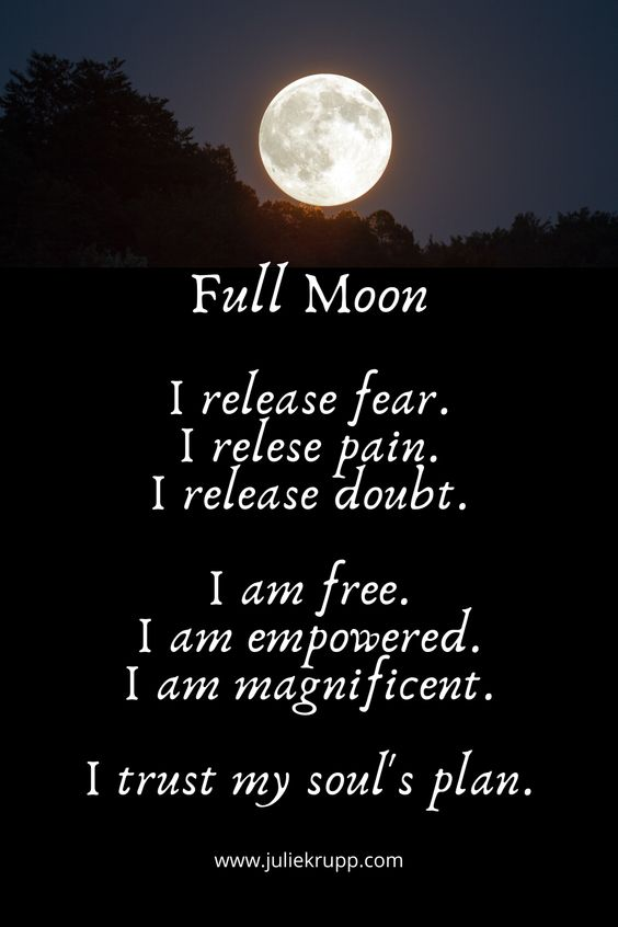 full moon prayer