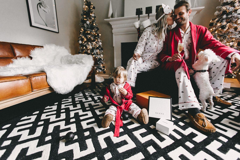 petite plume christmas pajamas