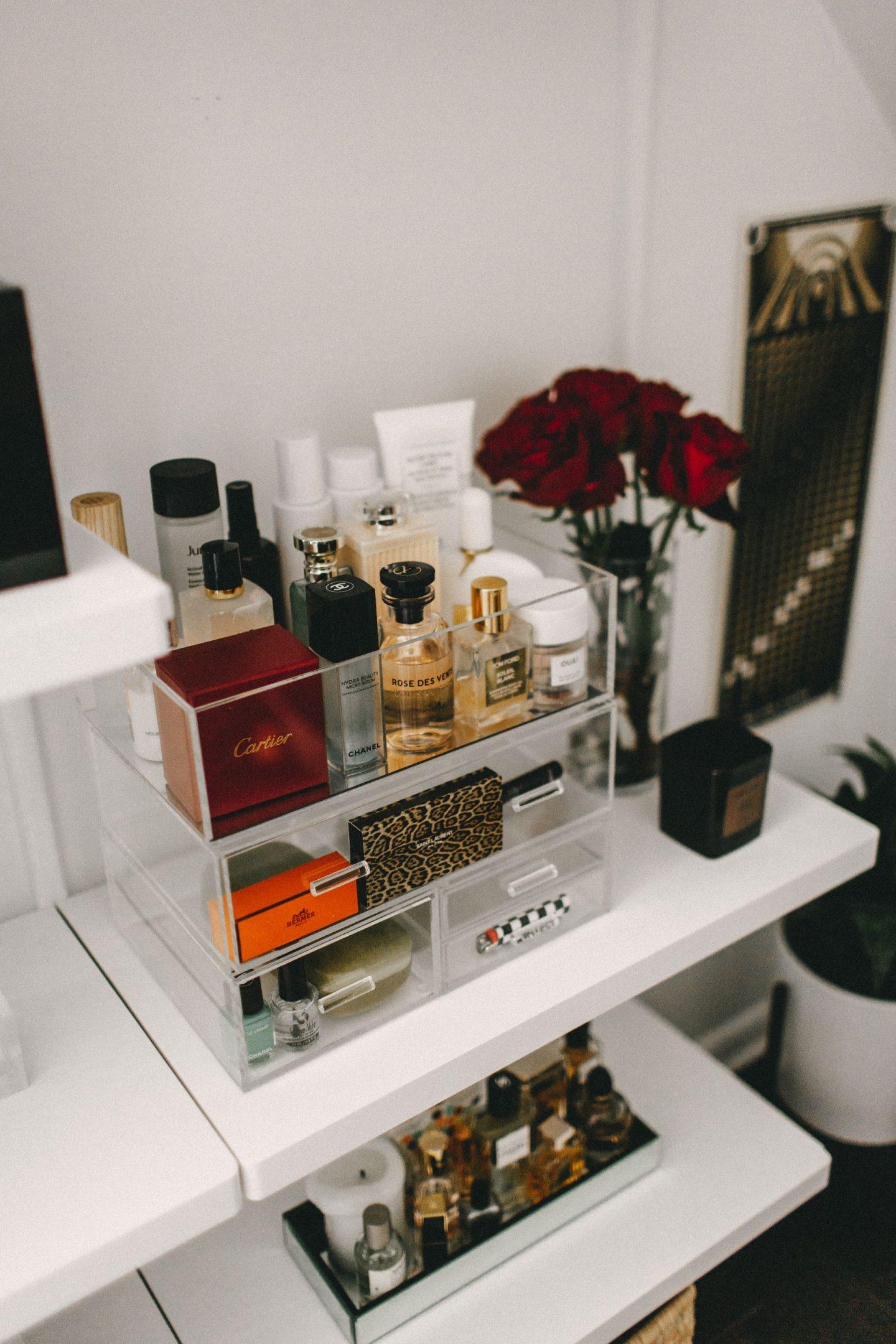 acrylic beauty storage cathclaire