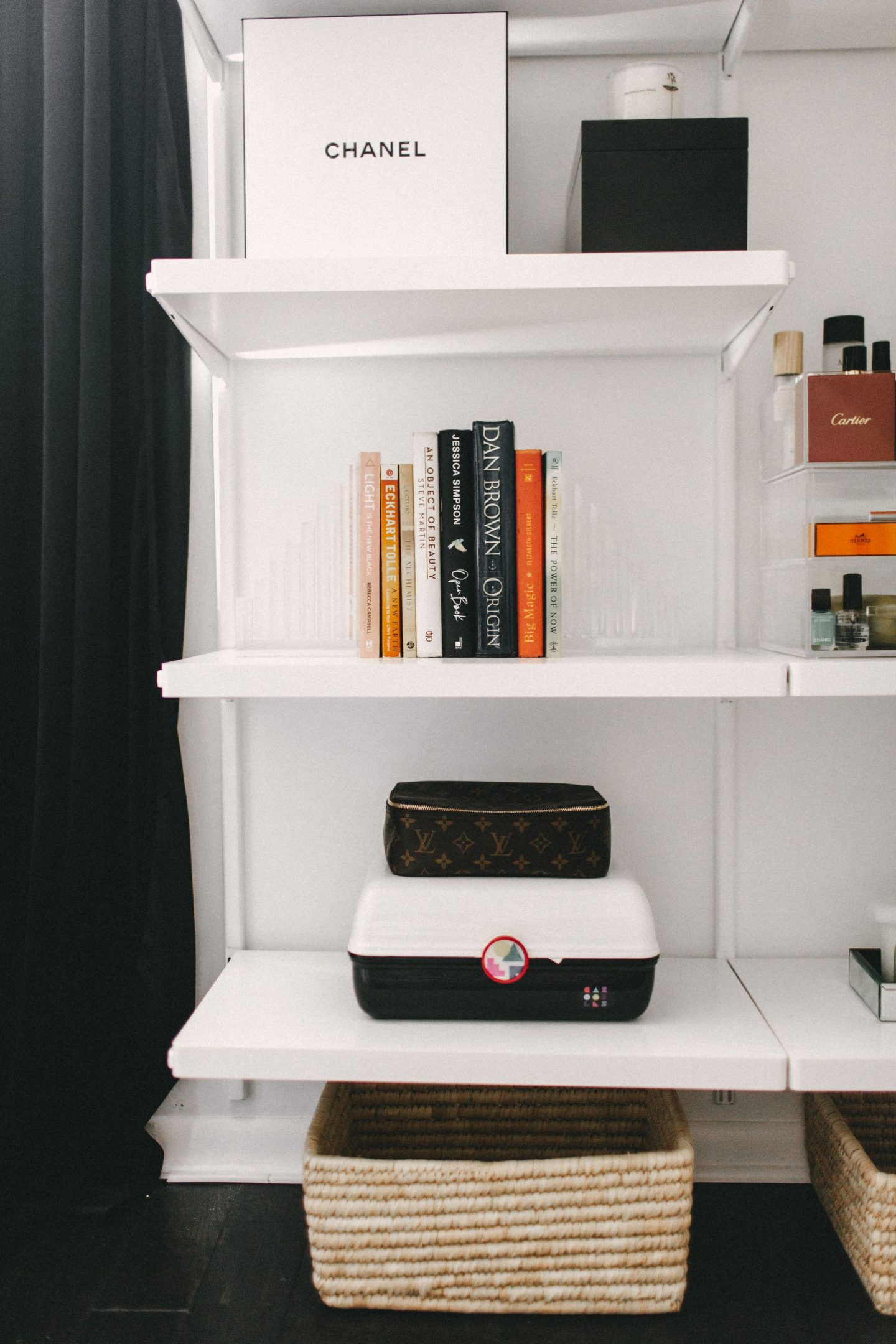 the container store acrylic bookends